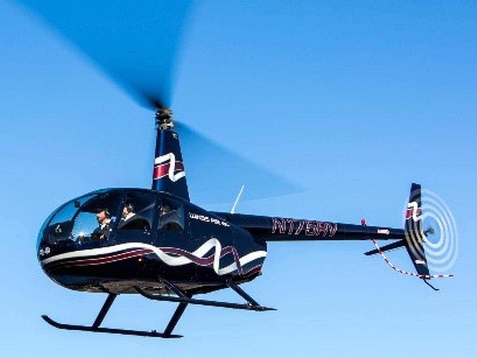 The Abbey Inn Helicopter Package for Two (year round)