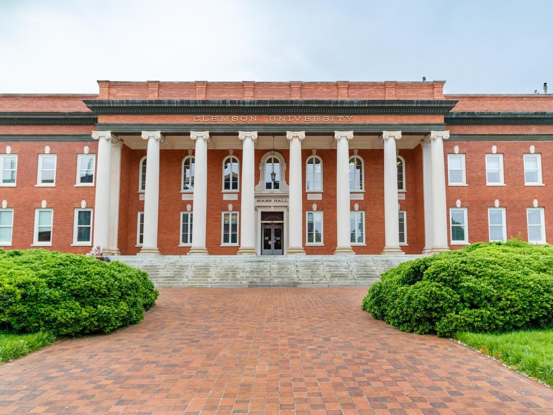 brick building on clemson campus