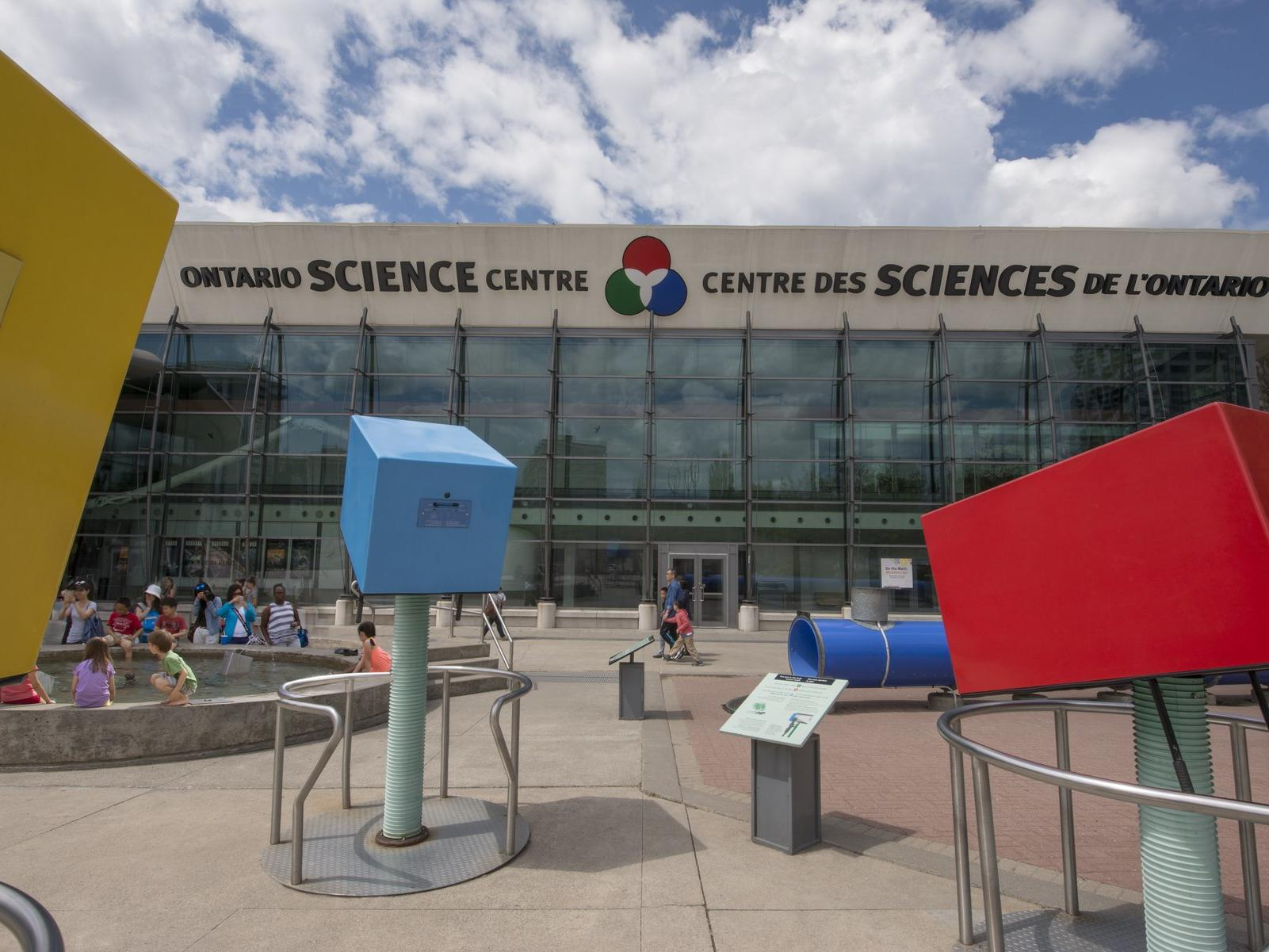 Front of the Ontario Science Centre