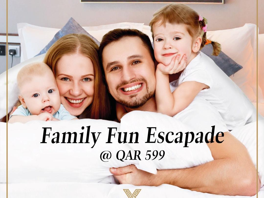 Family Promotion at VIP Hotel in Doha