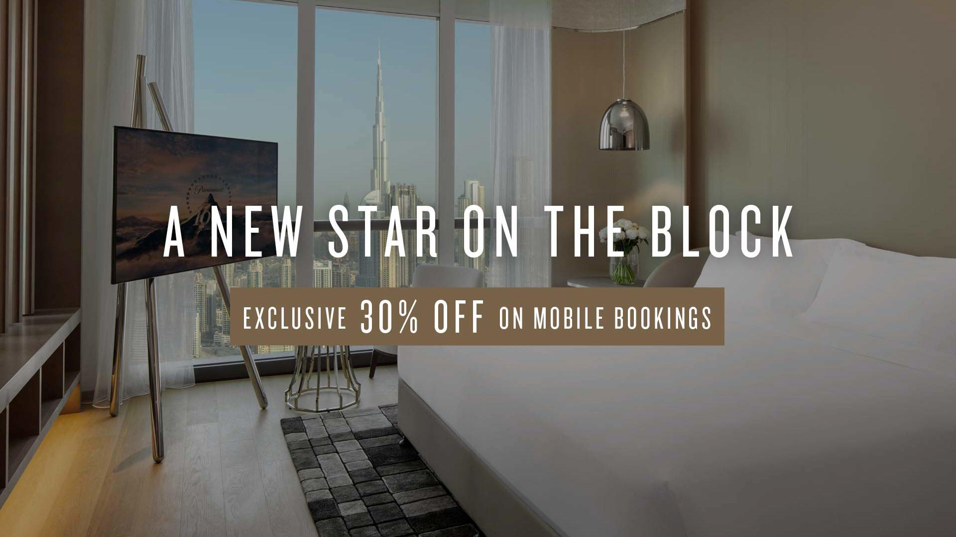 Mobile Special Offer at Paramount Hotel Dubai
