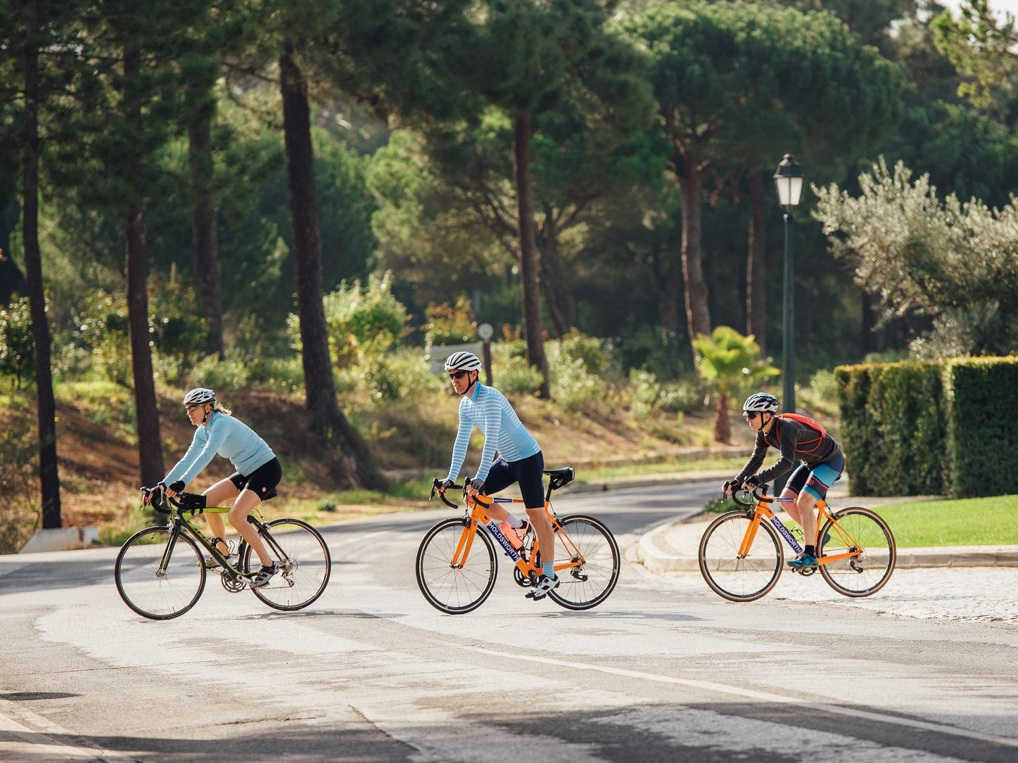 Cycling - -The Magnolia Hotel