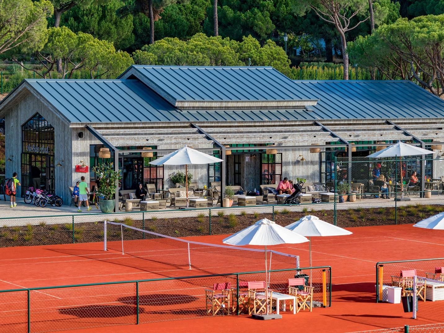 Exterior Tennis court -The Magnolia Hotel