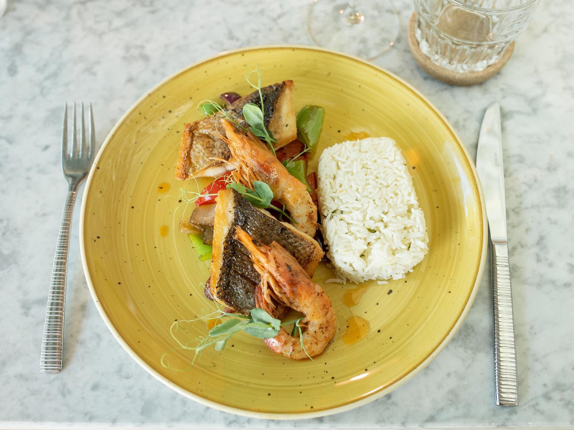 Delicious Food plate -The Magnolia Hotel