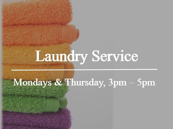 A poster for laundry service at The Saujana Hotel Kuala Lumpur