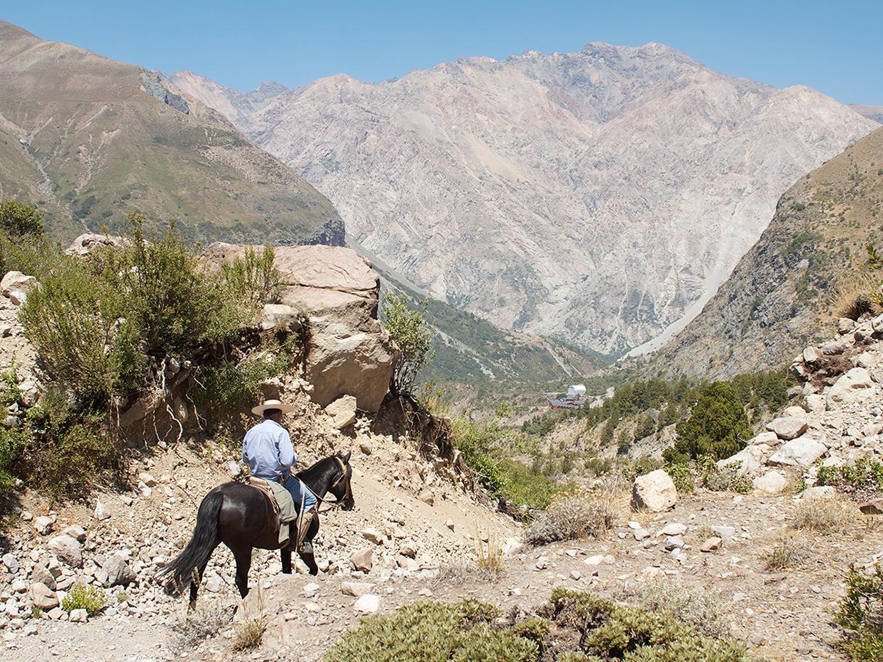 Horseback Riding At Andes Mountain near NOI Puma Lodge Hotel