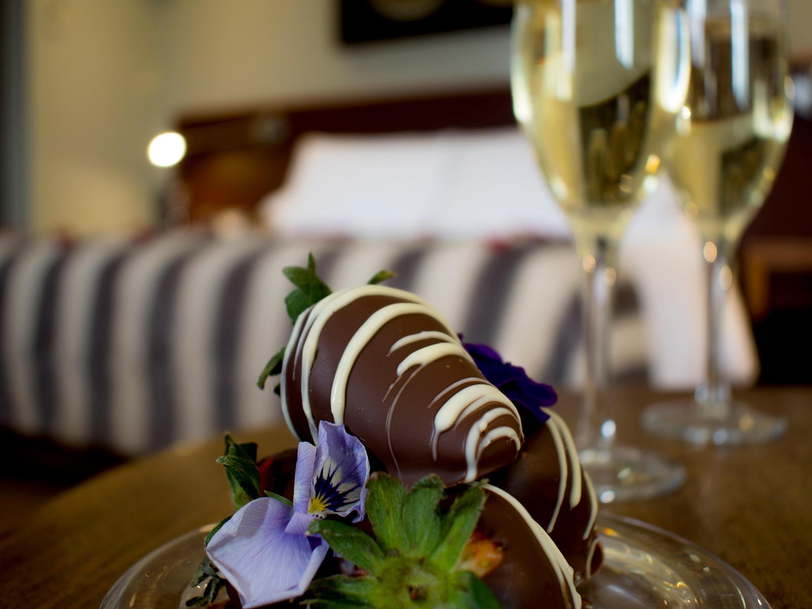 A dessert in Fantastico NOI Luxury at NOI Vitacura hotel