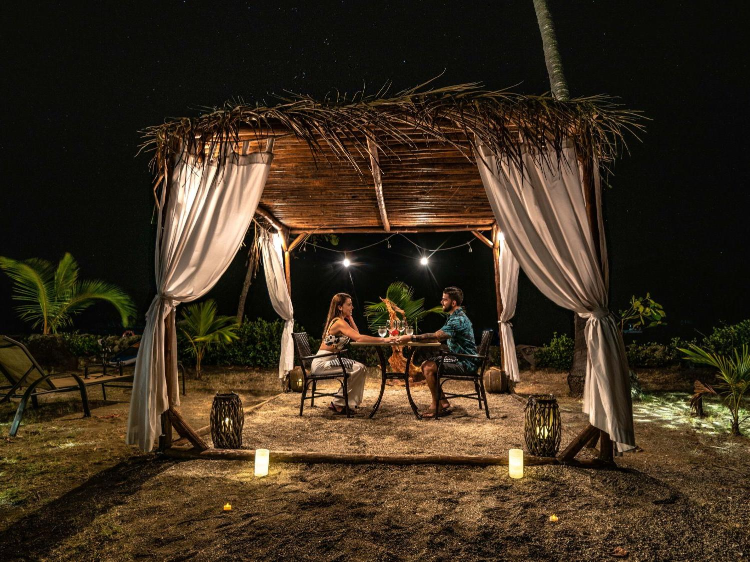 Private Torchlit Dining