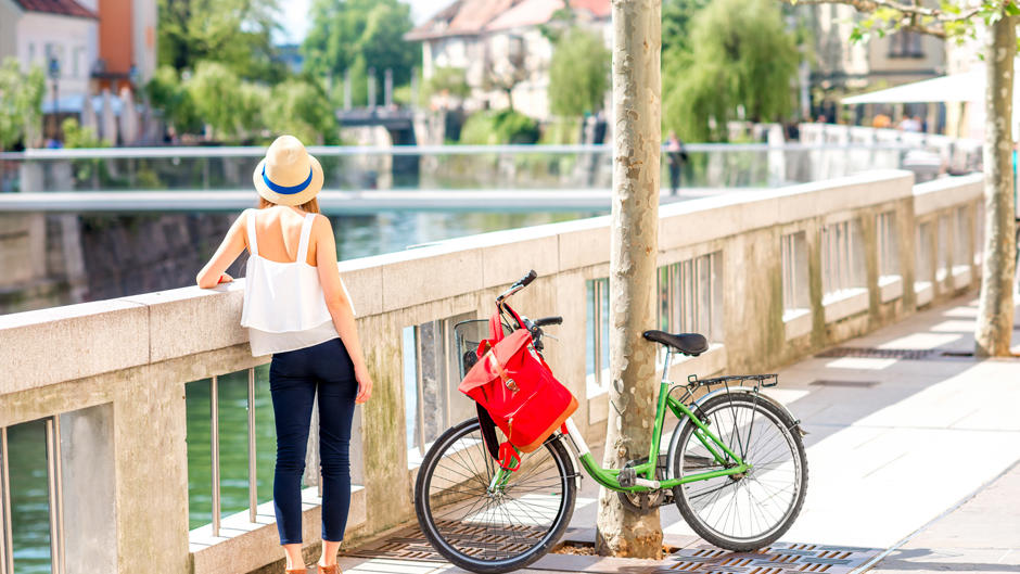 ljubljana bike ride