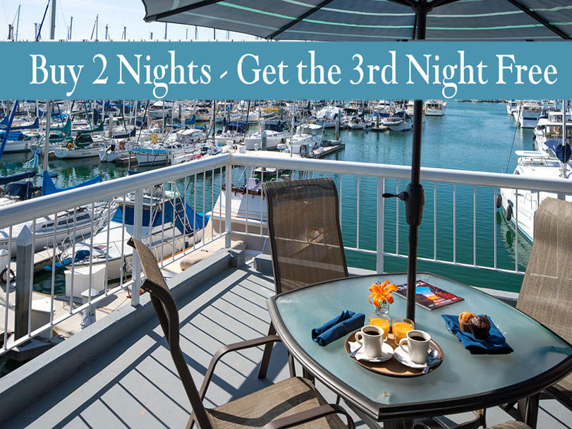 Stay 2 nights, get the 3rd night Free