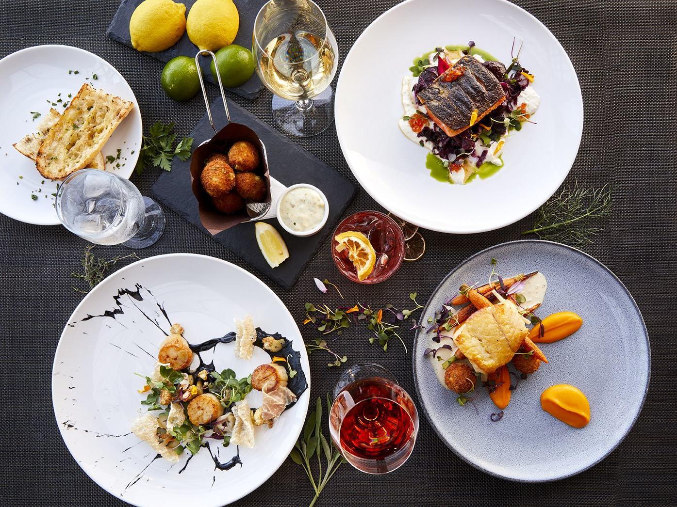 2020 menu dishes
