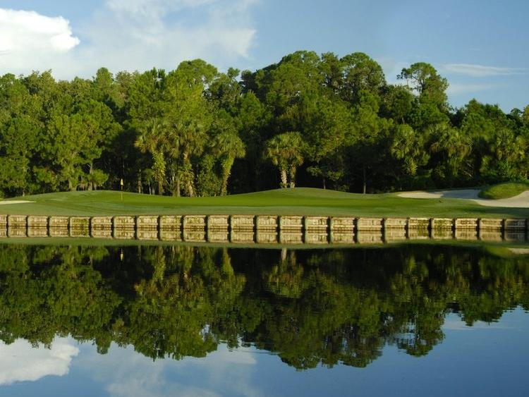 Exterior view of Westchase Golf Club at Shephard's Beach Resort