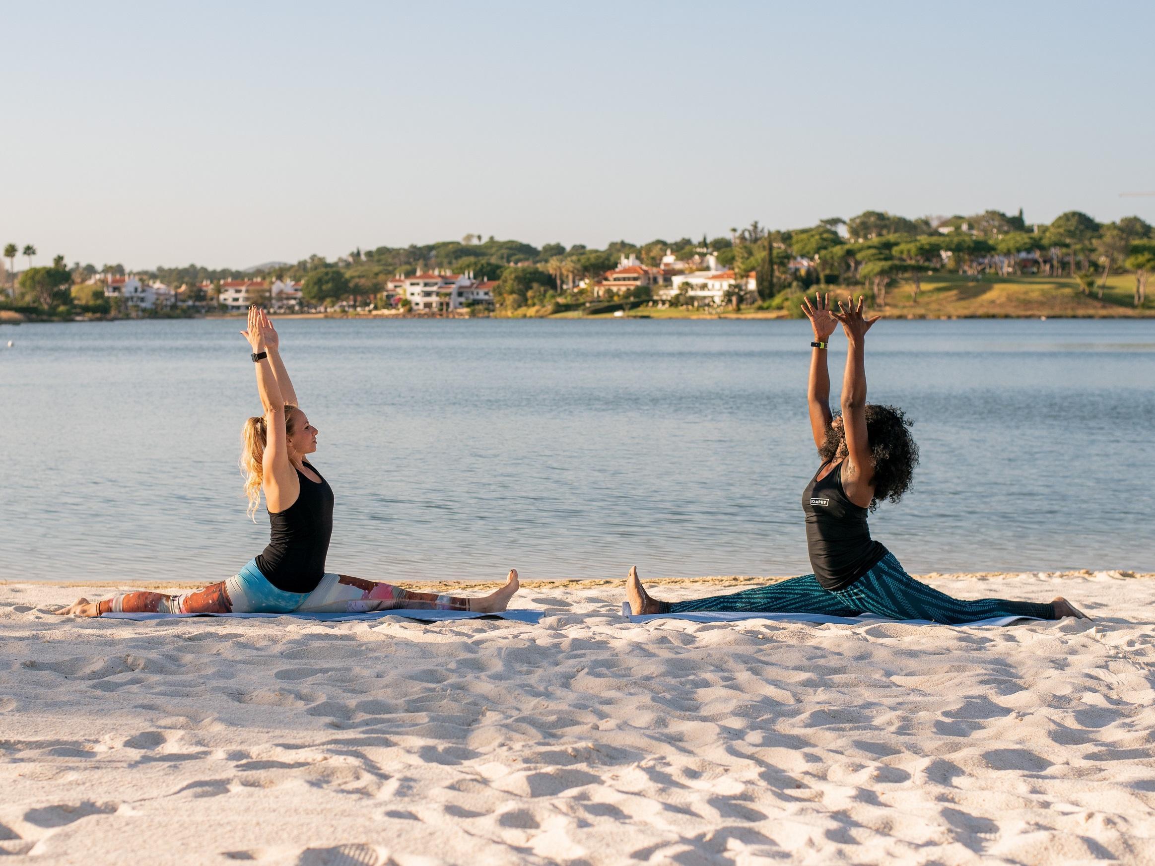 Beachside Yoga Event -  The Magnolia Hotel