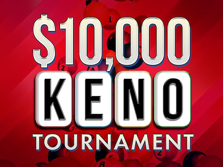 $10,000 Keno Tournament Logo