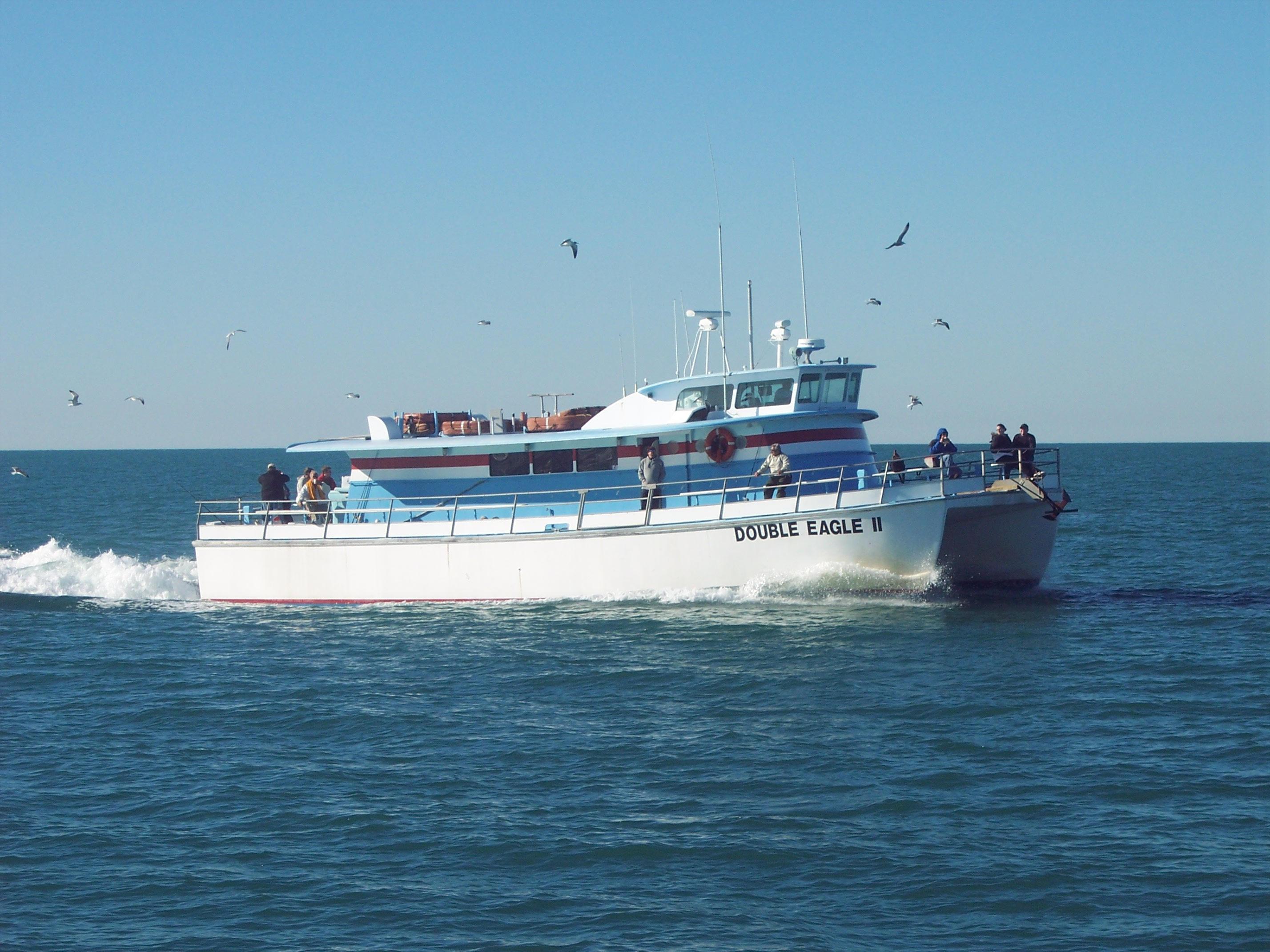 Boat at Deep Sea Fishing near Shephard's Beach Resort