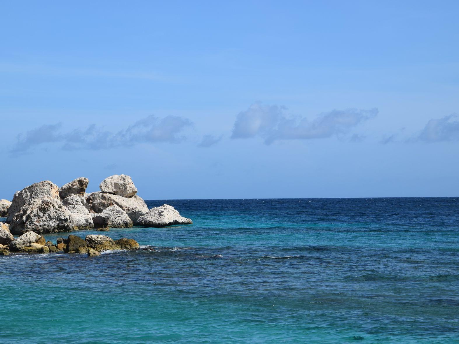Ocean off Curaçao