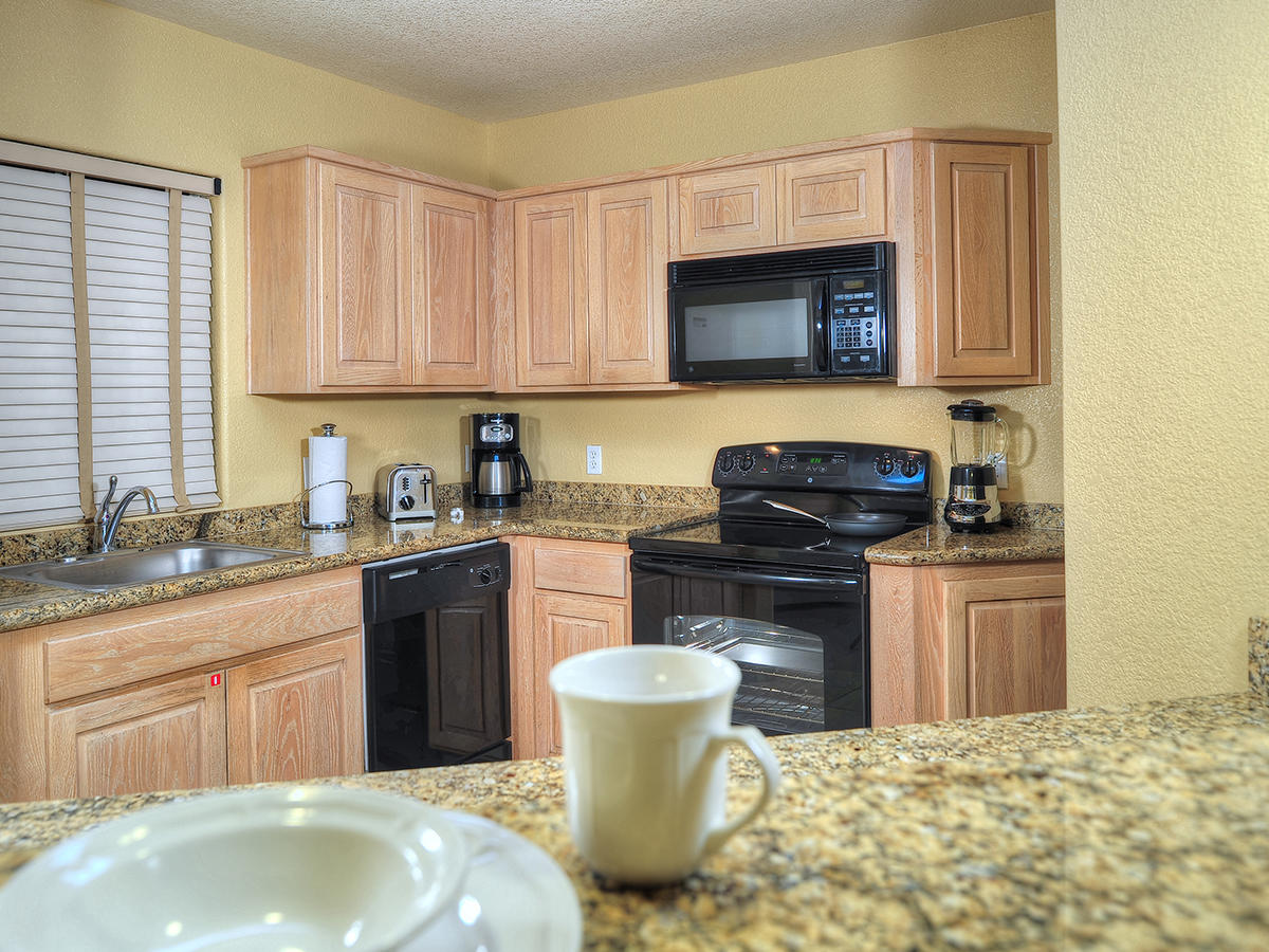 View of the kitchen facilities at  Diamond Sedona Portal Hotel