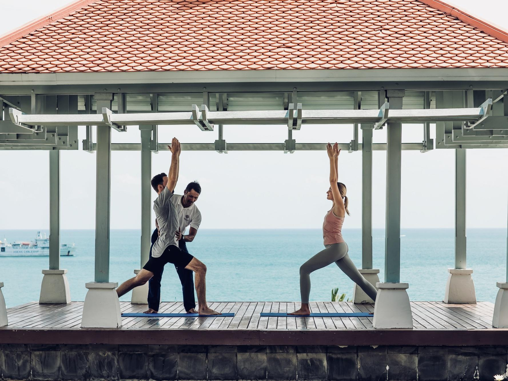 Amatara Wellness Resort - Yoga Class