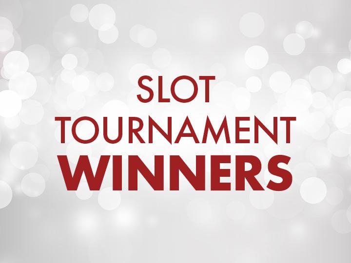 Slot Tournament Winners