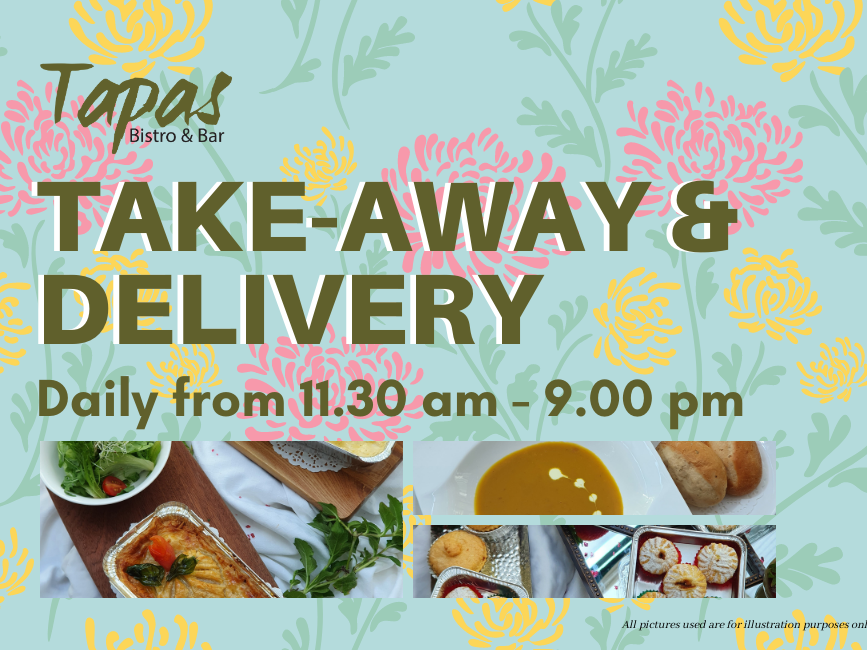 Tapas Take-away & Delivery!