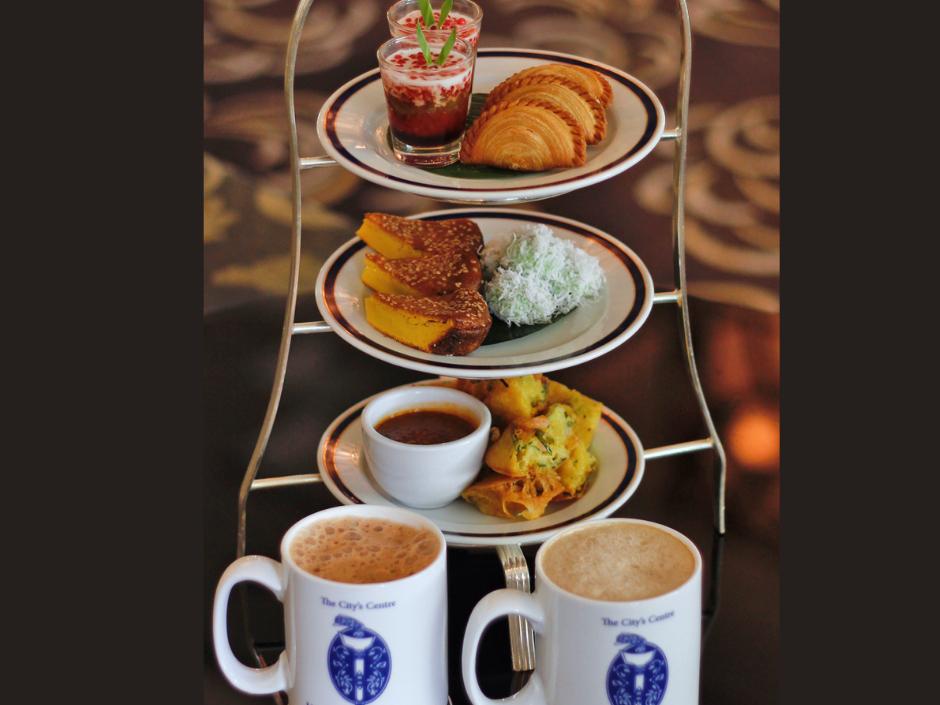 Afternoon Tea at Hotel Istana Kuala Lumpur