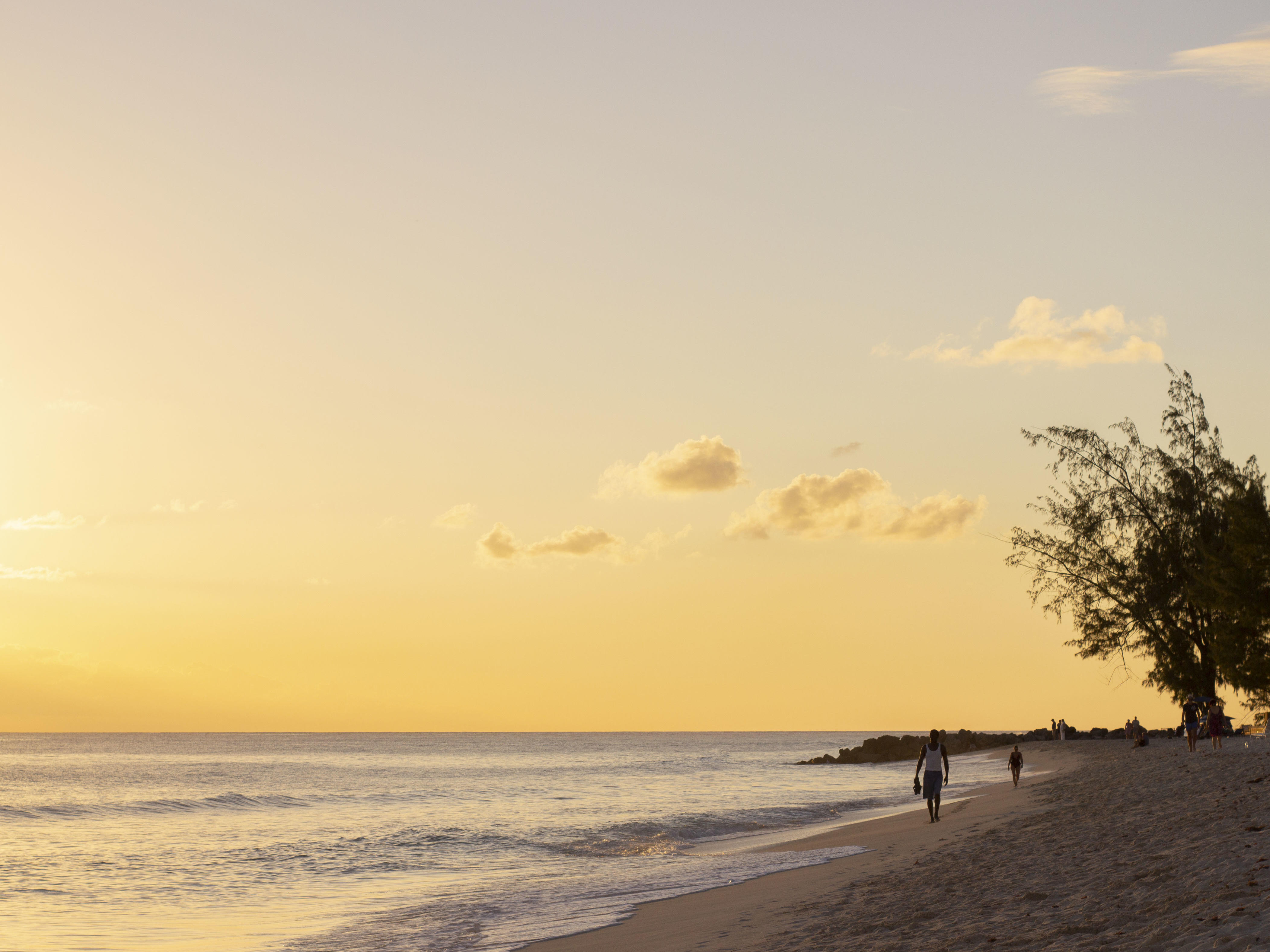 sunset dover beach