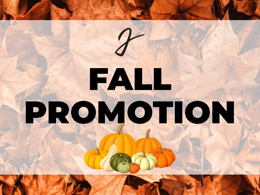 Fall Promotion Logo