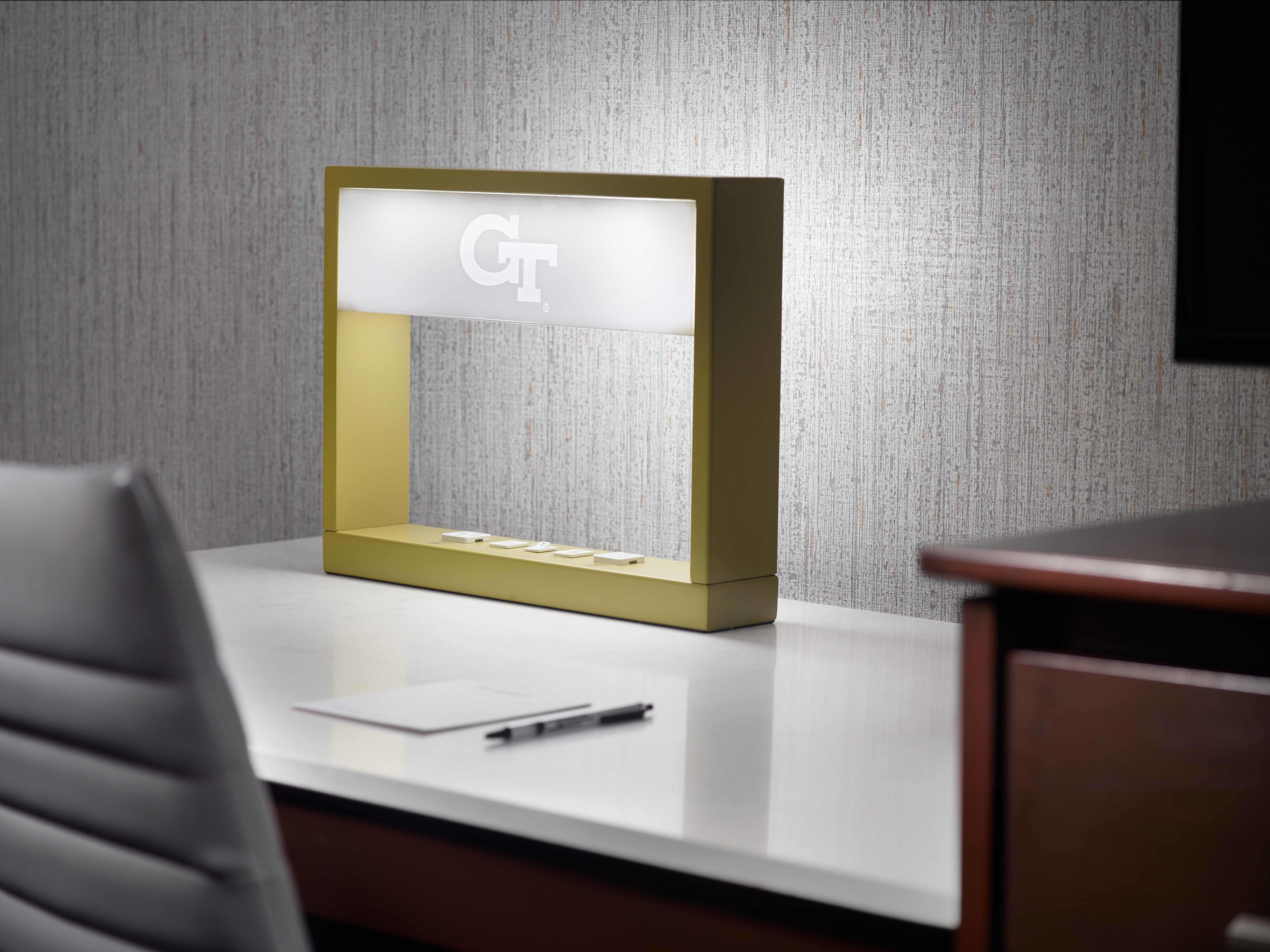 Georgia Tech Hotel Guest Room Design Feature - Desk Light