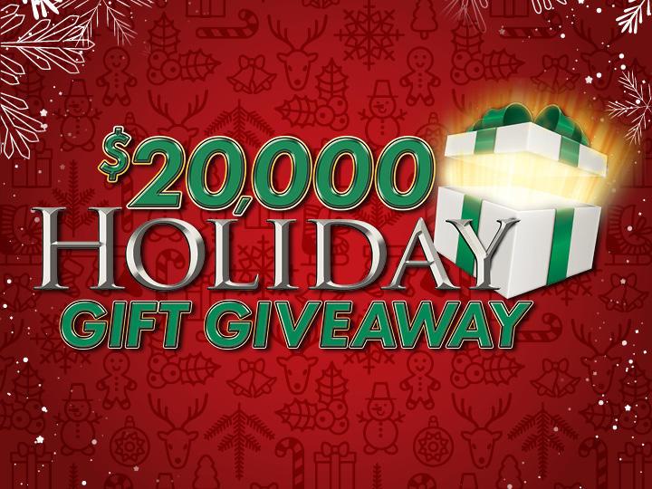 $20,000 Holiday Gift Giveaway Logo