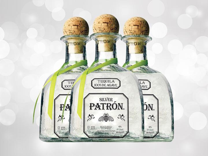 Patron Silver Bottles