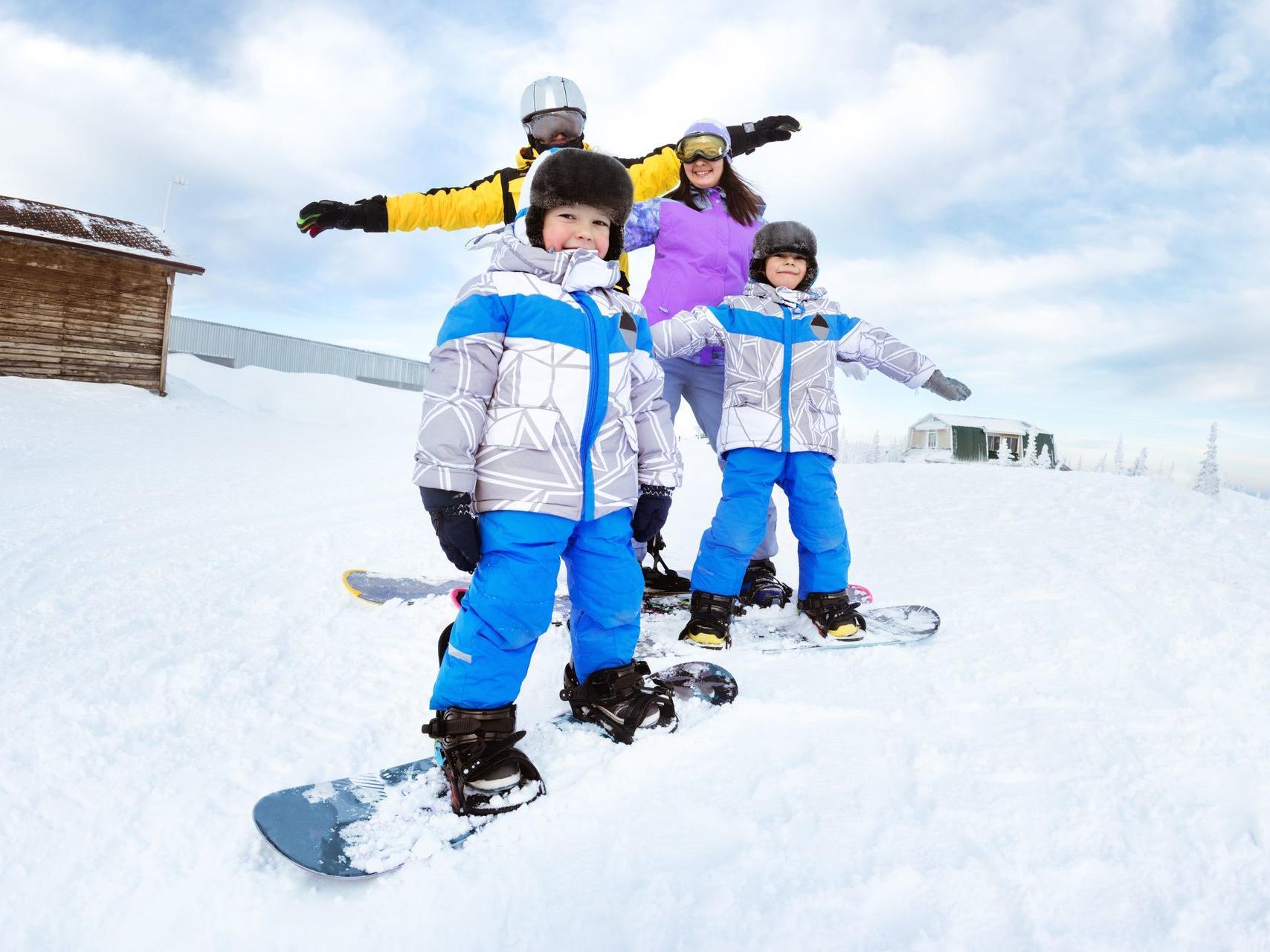 Snow Skating - Legacy Vacation Resorts