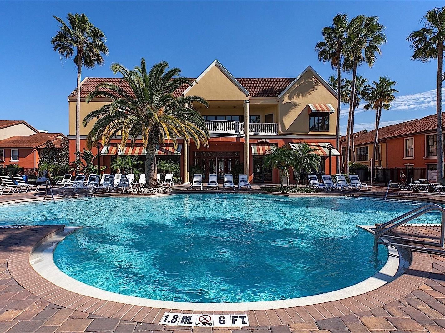 Pool View - Legacy Vacation Resorts