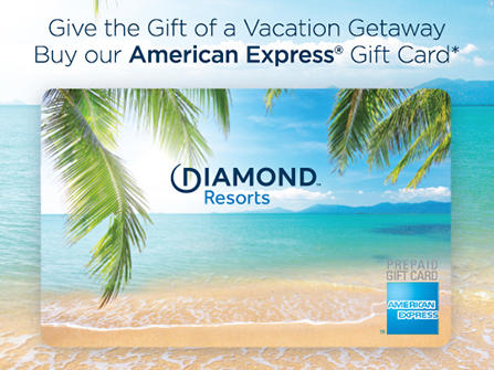 American Express Gift Card at Diamond Resorts Virginia Beach