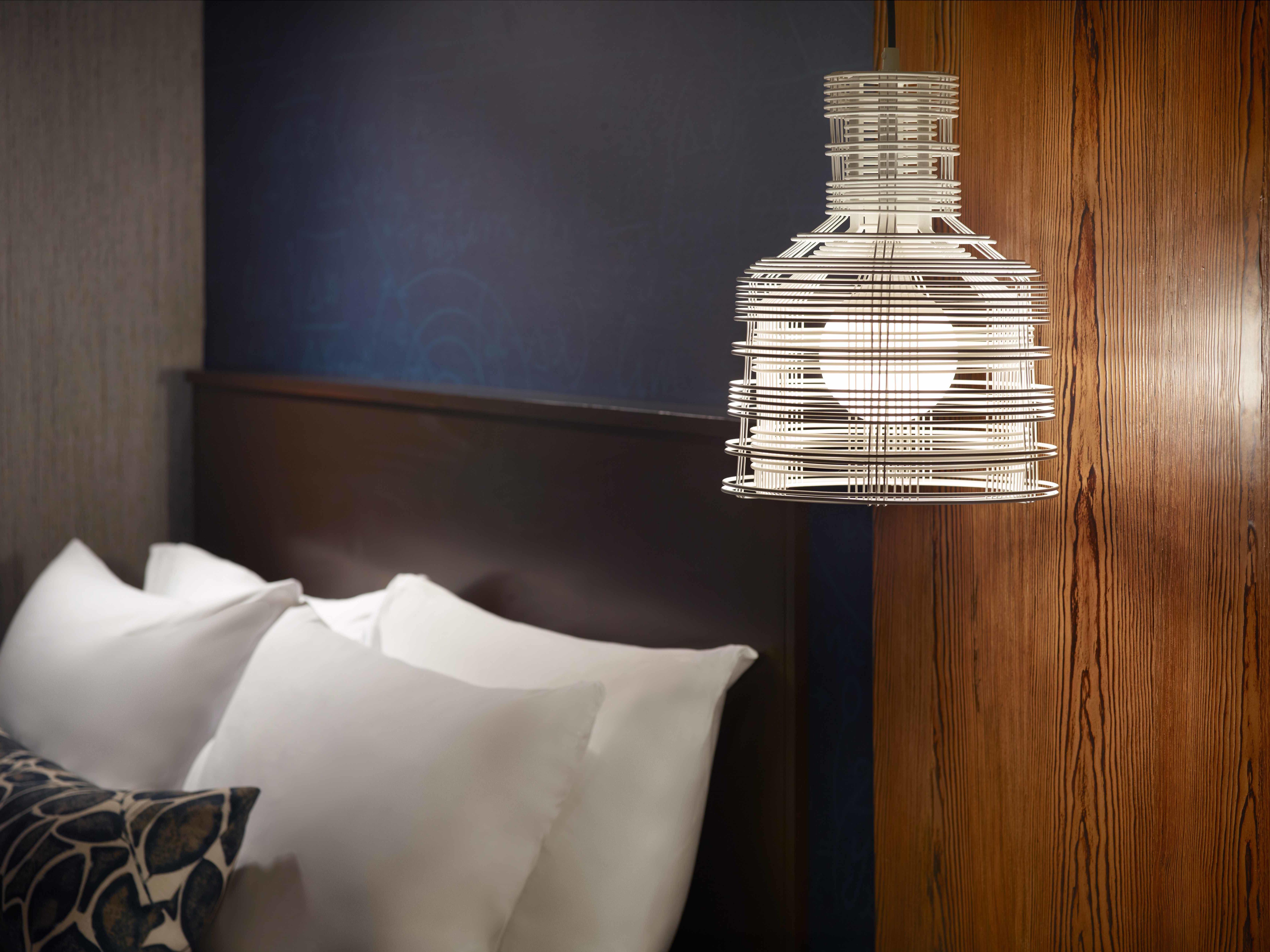 Georgia Tech Hotel Guest Room Design Feature - Lighting