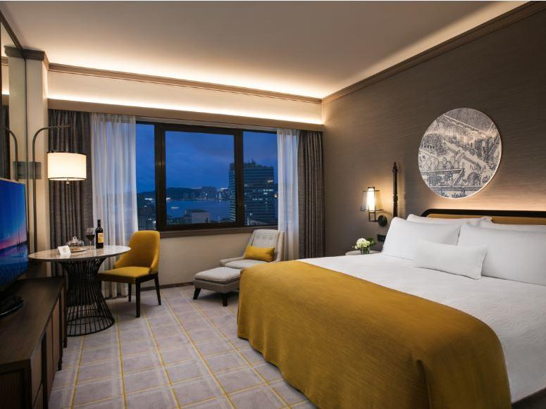 Room with smart TV and view of buldings at Artyzen Grand Lapa Hotel Macau