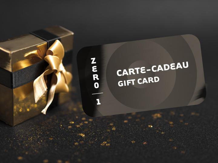 carte-cadeau gift card