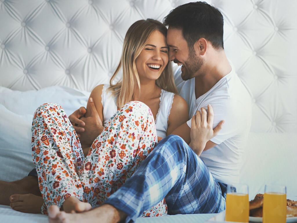 Couple is enjoying their weekend - Monte Carlo Inn Toronto Markham