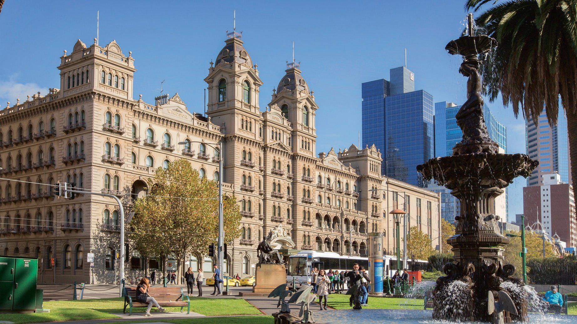 Attractions around The Hotel Windsor Melbourne