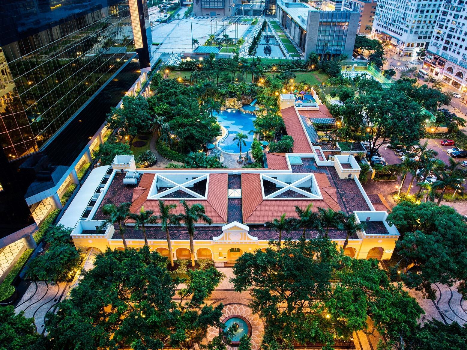 Sky view of Artyzen Grand Lapa Hotel Macau