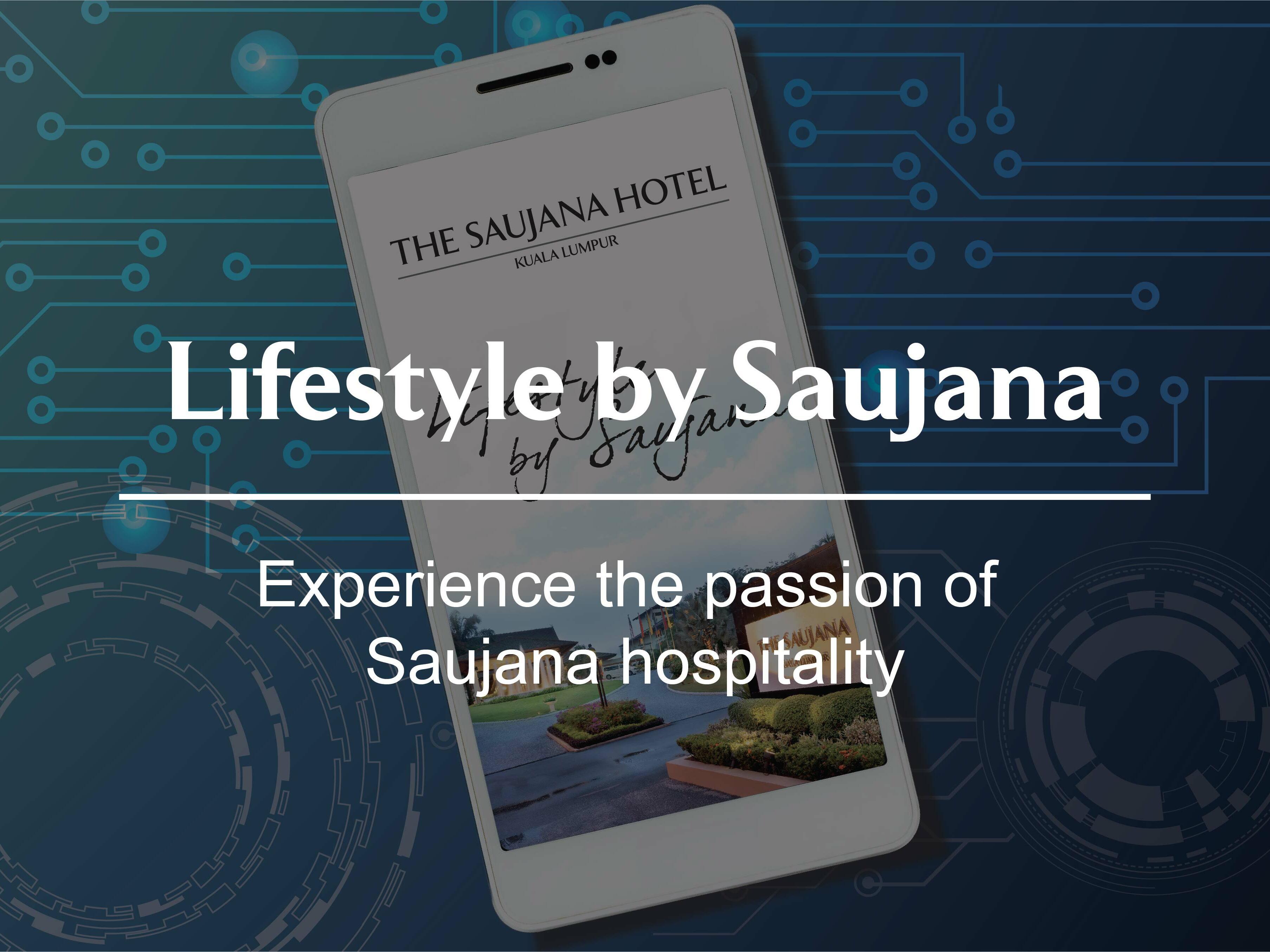 A poster of Life style by Saujana at The Saujana Hotel Kuala Lumpur
