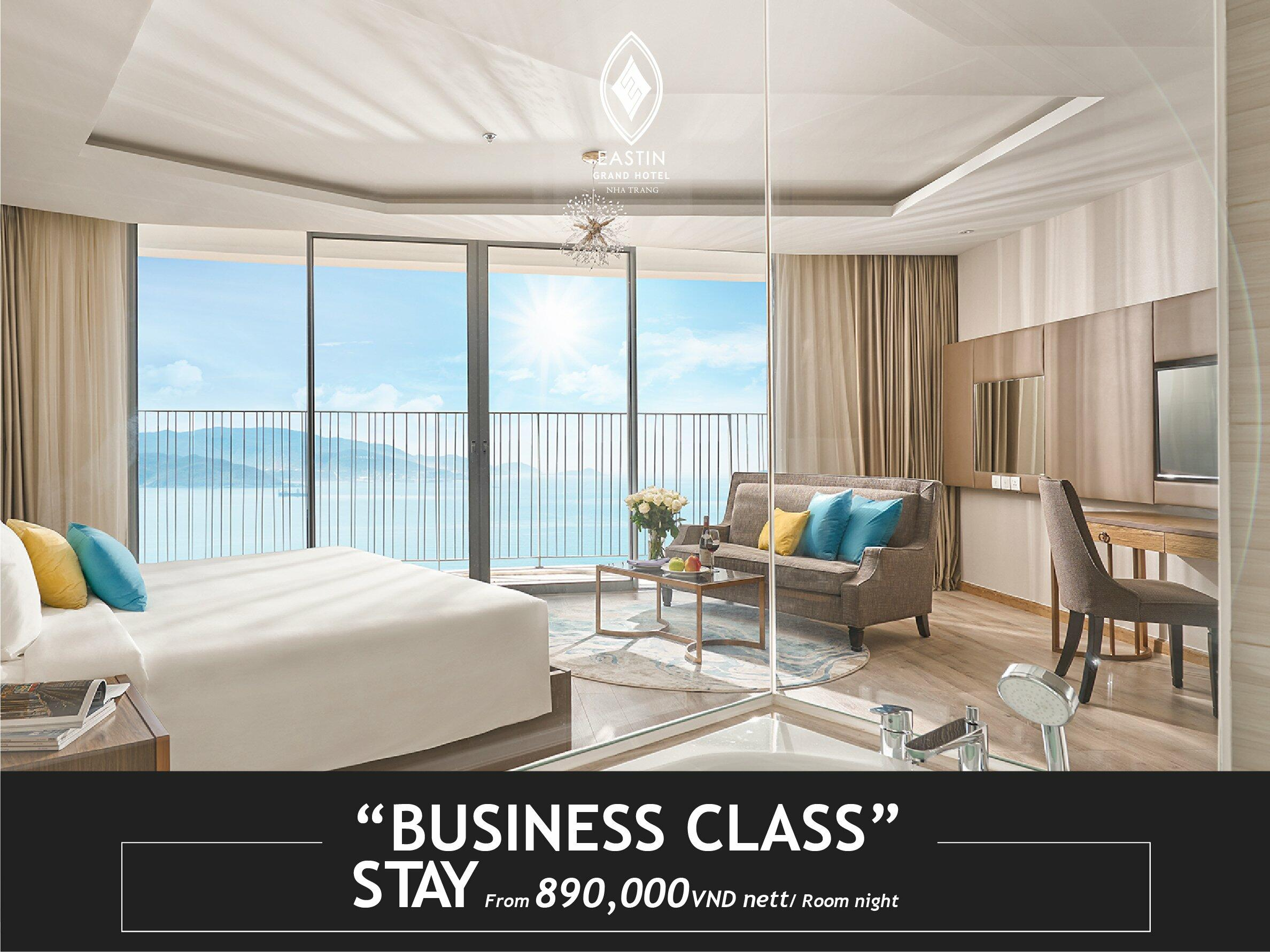 Business Class Stay  - Eastin Hotel