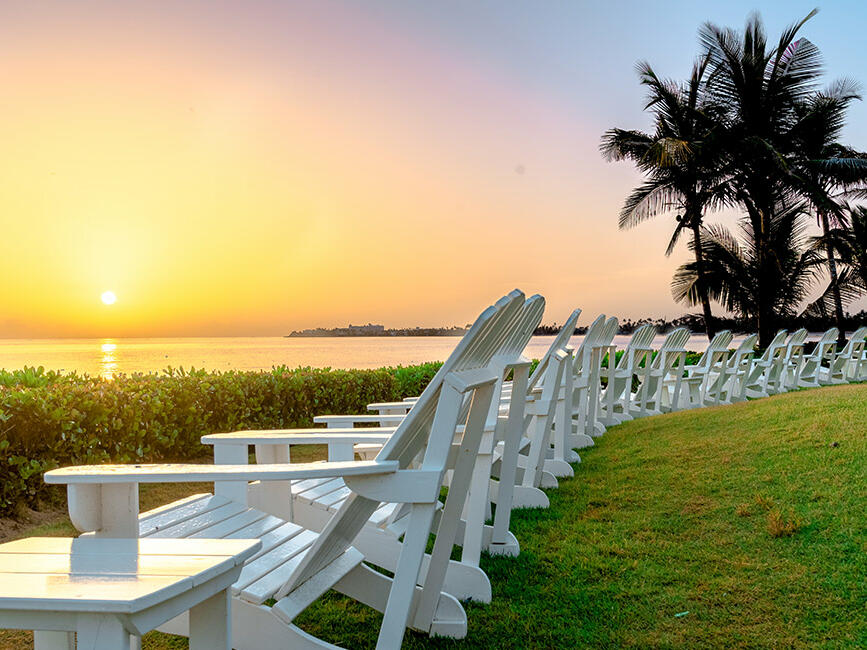 Sunrise at Dorado Beach Resort, Puerto Rico