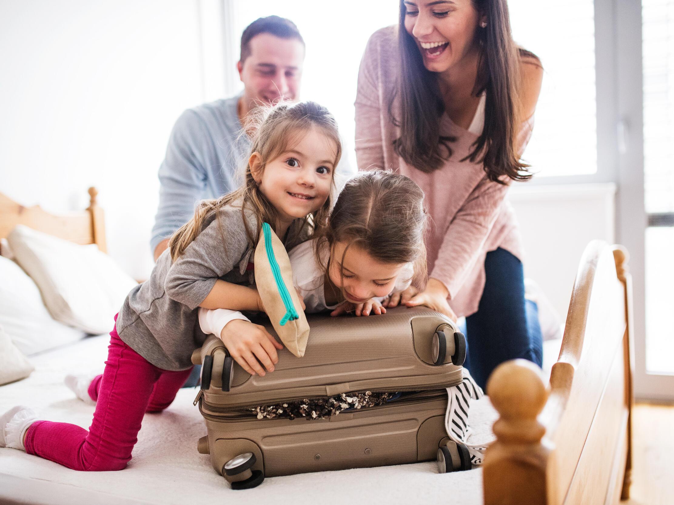 Family having fun - Monte Carlo Inns Oakville Suites