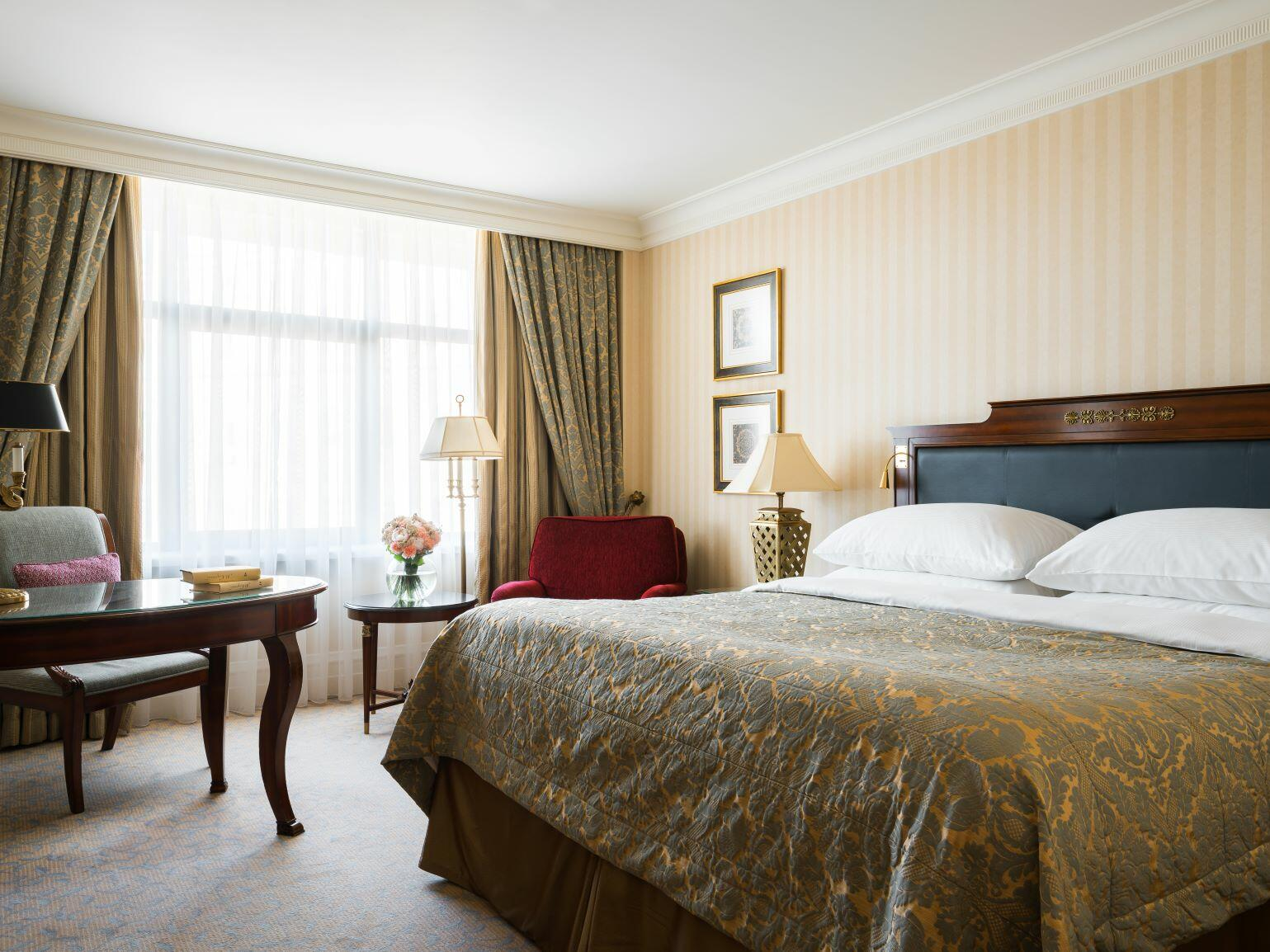 Best deluxe room in Intercontinental Kyiv hotel