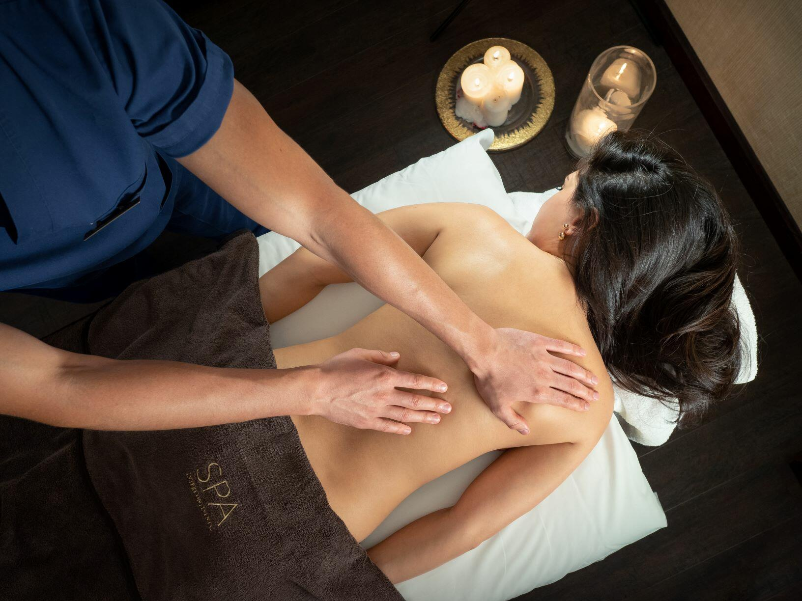 Many massage services in  Intercontinental Kyiv hotel