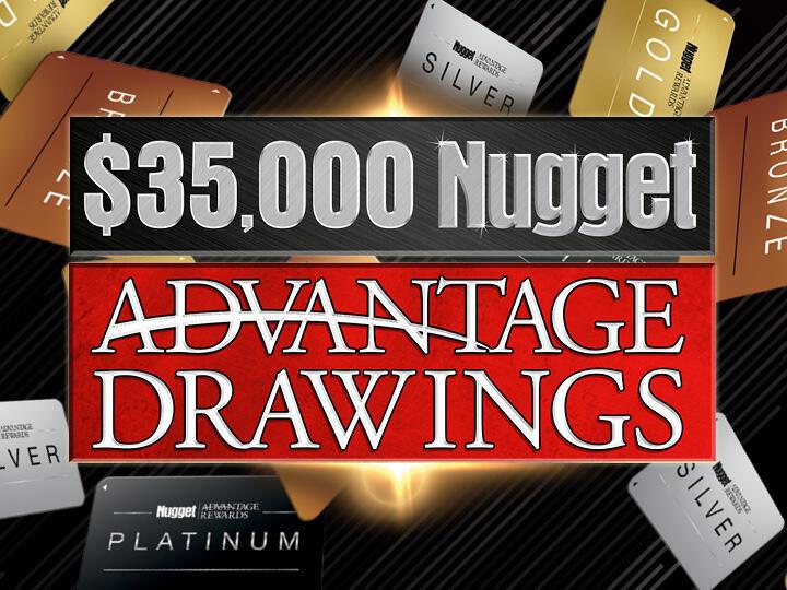 $35,000 Nugget Advantage Drawings Logo