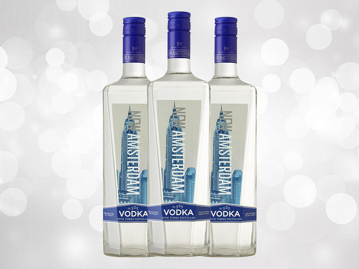 New Amsterdam Vodka Bottles