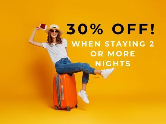 30 % off offer at Jasper Hotel