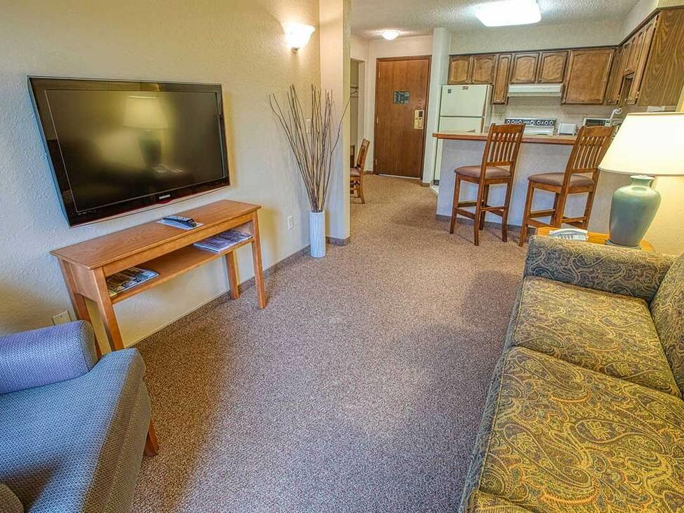 View of the room at Sophie Station Suites