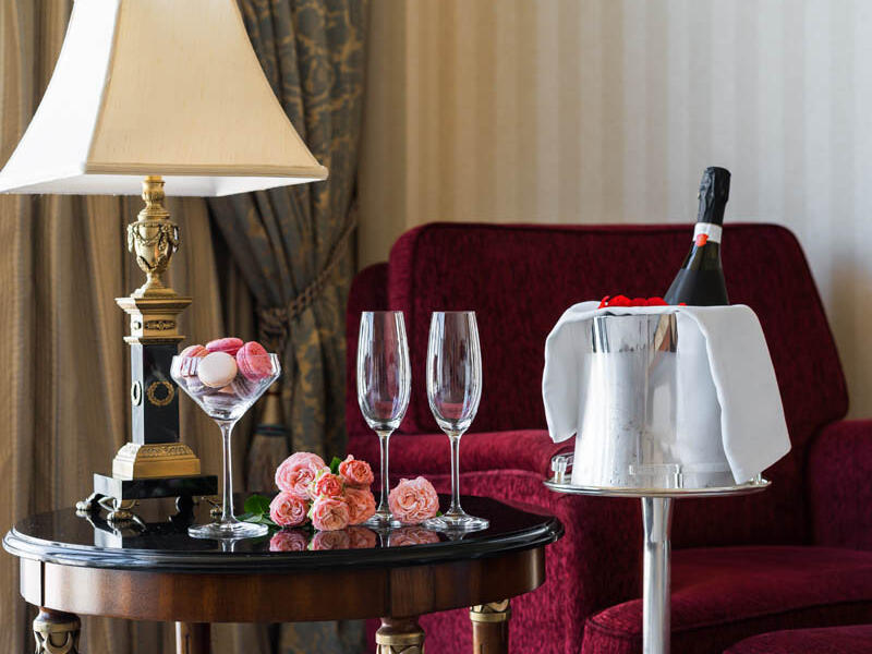 Delicious food services in Intercontinental Kyiv hotel